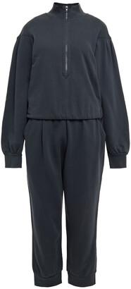 Frame Gathered Organic Pima Cotton Jumpsuit