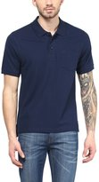 American Crew Premium Pique Solid Polo T-Shirt With Pocket- L (AC193-L)