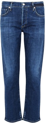Citizens of Humanity Emerson Dark Blue Slim-leg Jeans