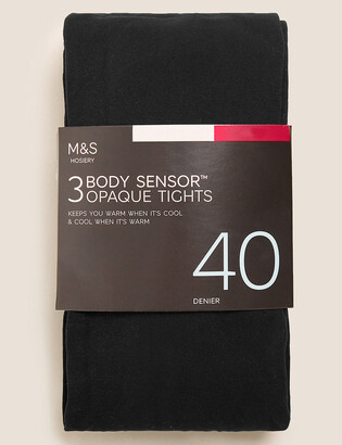 Marks and Spencer 3pk 40 Denier Body Sensor Tights
