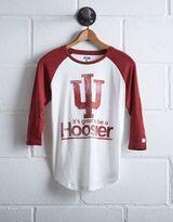 Tailgate Women's Indiana Hoosiers Baseball Shirt