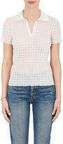 Giorgio Armani Women's Check-Textured Polo Shirt