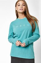Obey Custom Box Pigment Long Sleeve T-Shirt
