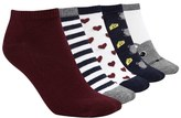 Forever 21 FOREVER 21+ Mouse Ankle Socks - 5 Pack