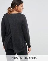Junarose Wrap Back Knitted Sweater