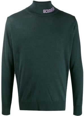 GCDS colour block jumper