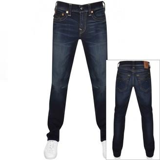 True Religion Ricky No Flap Jeans Blue