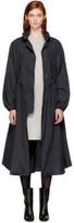 Etoile Isabel Marant Black Copal Raincoat