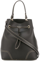 Furla stitch detail bucket bag