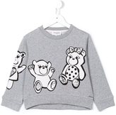 Simonetta bear print sweatshirt