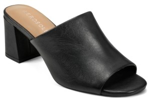Aerosoles Women's Erie Block Heel Slide Sandal Women's Shoes