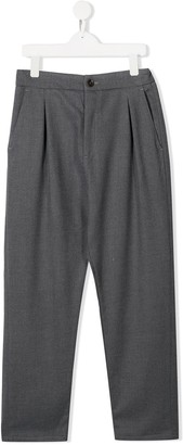 Paolo Pecora Kids pleated trousers
