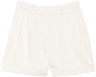 Diane von Furstenberg Shiana Pleated Shorts