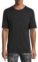 Helmut Lang Brushed Jersey Short-Sleeve T-Shirt, Black