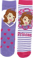 Disney Sofia the First Girls Two Pair of Children's Ankle Socks UK Size 6-8