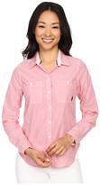 U.S. Polo Assn. Multi Stripe Long Sleeve Two Pocket Woven Shirt