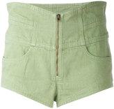 Isabel Marant denim shorts - women - Cotton - 38