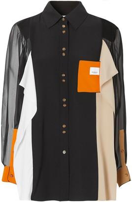 Burberry Colour-Block Shirt
