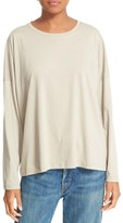 Vince Relaxed Pima Cotton Top