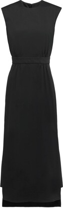 Prada Step-Hem Sleeveless Midi-Dress