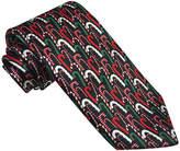Asstd National Brand Hallmark Multi-Foil Candy-Cane Tie - Extra Long