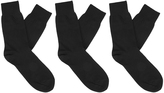 Oxford Mens Socks 3pk Black