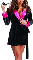 Rubie's Costume Co Playboy Smoking Jacket - Women