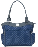 Carter's Honeycomb-Print Drop-Down Changer Diaper Bag