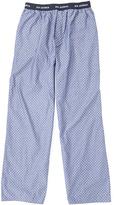 Ben Sherman Blue Pin Dot Lounge Pants