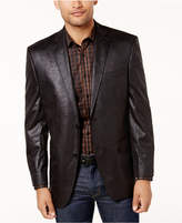 Andrew Marc Men's Slim-Fit Faux-Leather Sport Coat