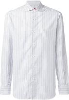 Isaia pinstripe shirt