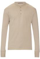 Bottega Veneta Long-sleeved Henley T-shirt