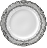 10 Strawberry Street Set Of Six Vanessa Platinum Charger Plates
