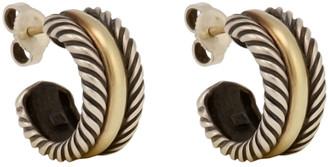 David Yurman Mini Cable Hoop Earrings