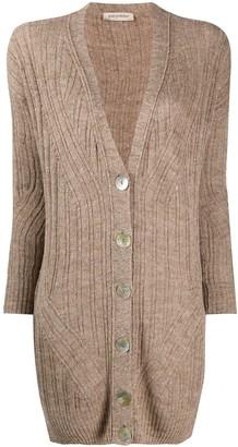 Gentry Portofino Fine Knit Longline Cardigan