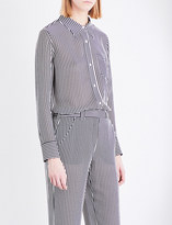 A.L.C. Scott silk-crepe shirt