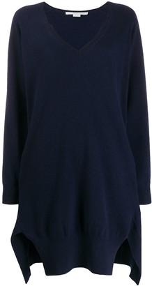 Stella McCartney slit detail jumper dress