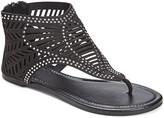 Star Bay Women's Sandals Black - Black Cutout Gladiator Sandal - Women
