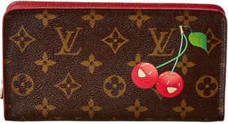 Louis Vuitton Takashi Murakami Cherry Blossom Monogram Canvas Porte Monnaie