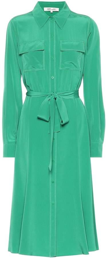 Diane von Furstenberg Antonette silk shirt dress