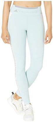 adidas by Stella McCartney Run Performance Tights FK9708 (Steel Blue/White) Women's Casual Pants