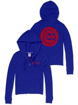 Victoria's Secret PINK Chicago Cubs Bling Perfect Full Zip Hoodie