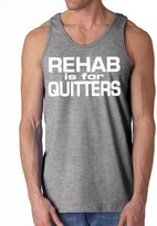 Shop Funny T Shirts Rehab Is For Quitters Funny Tank Top M