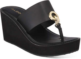 Aldo Dreamer Wedge Sandals Women Shoes