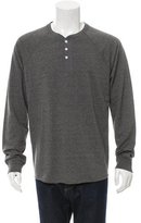 Vince Three-Button Crew Neck Henley w/ Tags