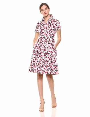 Donna Morgan Women's Shirt Dress