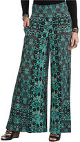 Free People Printed Palazzo Pants