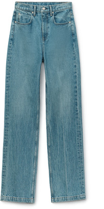 Denim High Waist Trouser Jean