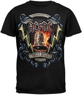 Liquid Blue Men's Ac/DC-Hells Bells Shield T-Shirt