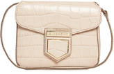 Givenchy Nobile mini crocodile-effect cross-body bag